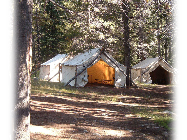 Elk Hunting Camp